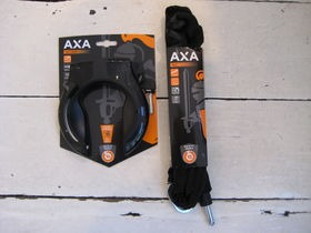 AXA Victory lock and 140cm plug-in chain