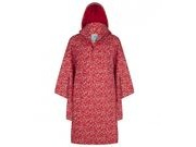 HAPPY RAINY DAYS Rain Cape  Robin Red/white drop click to zoom image