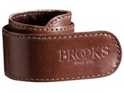 BROOKS SADDLES Trouser strap (unboxed)  Brown  click to zoom image